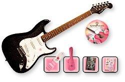 GYPSY ROSE - GRE1K/N - pack guitare electrique noire